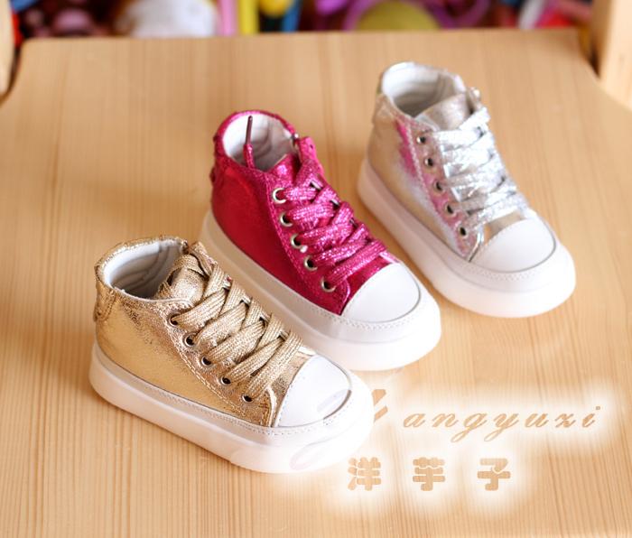 Детская кожаная обувь Other brands 2127 2013 Девушки, Для молодых мужчин, Унисекс Искусственная кожа Шнурок Комбинированная подошва Металл