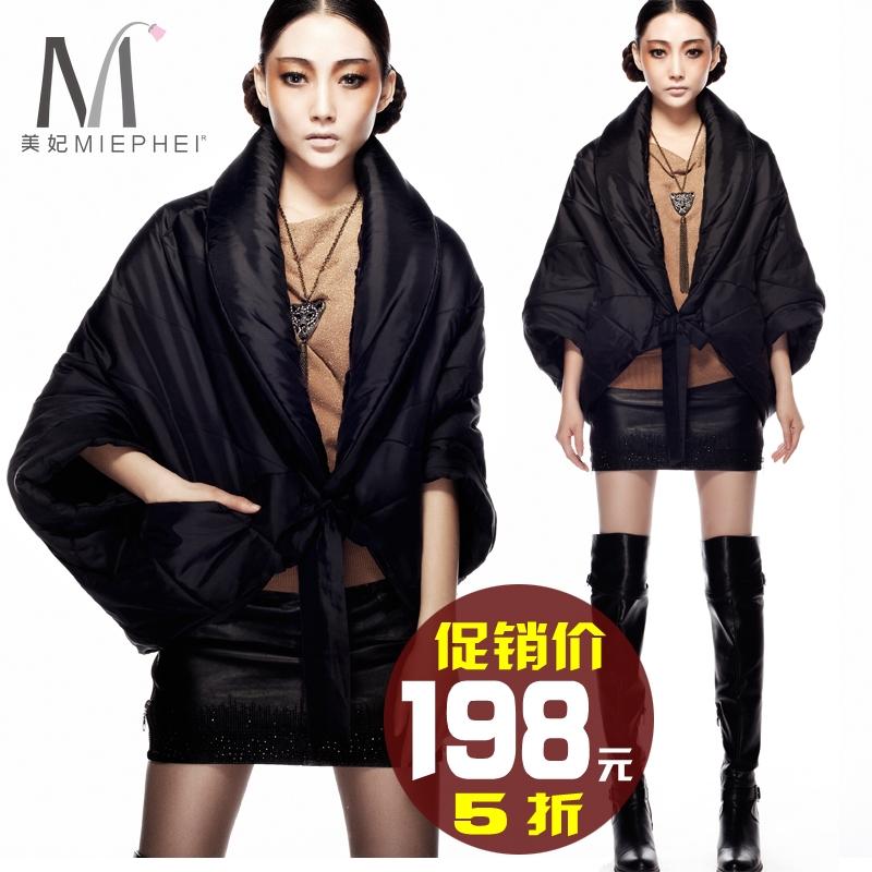 Женская утепленная куртка MIEPHEI 11 12 Свободный Укороченный рукав,рукав средней длины Зима 2012