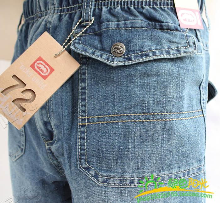 детские штаны Other 59 7Y 120-130 Other Синий цвет Джинсы Для отдыха Кожаный пояс на талии