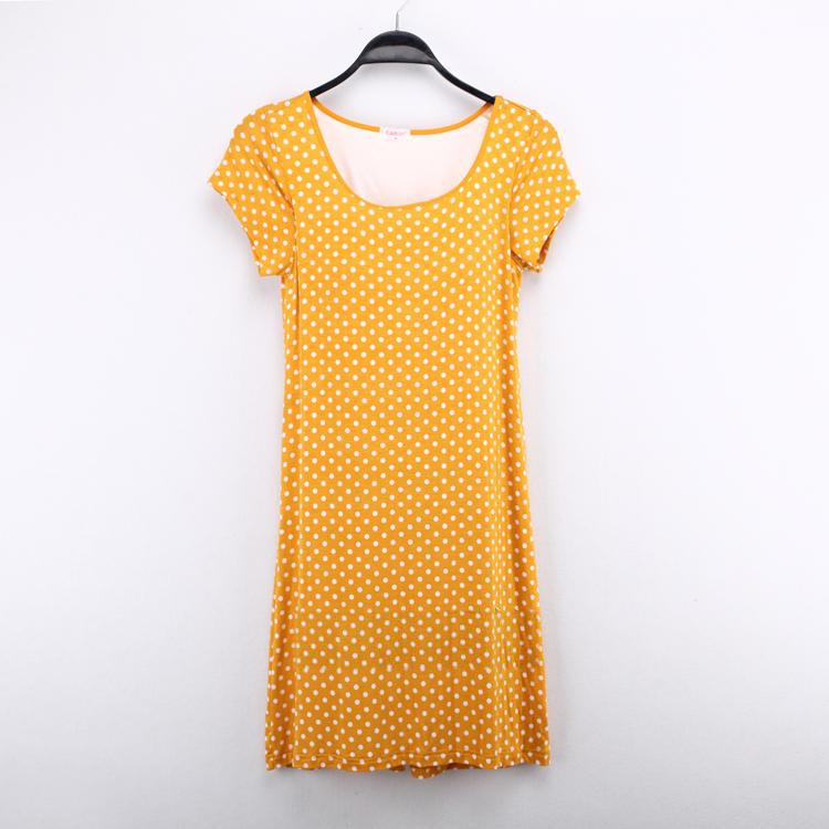Цвет: Желтый горошек локтя
