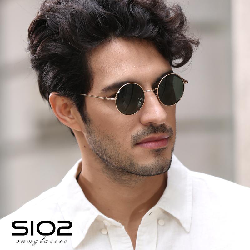Sio2 Round Sunglasses Retro Glasses Men S Fashion Tide