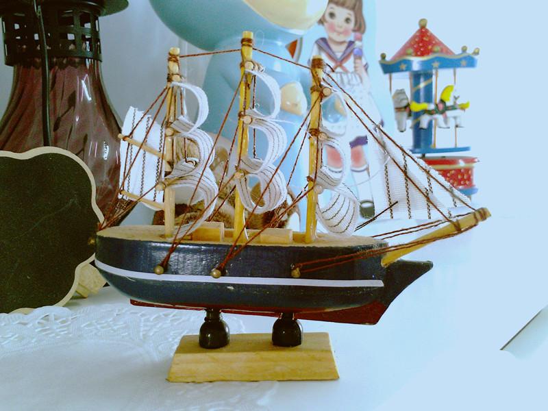 Декоративный корабль 001 Из дерева