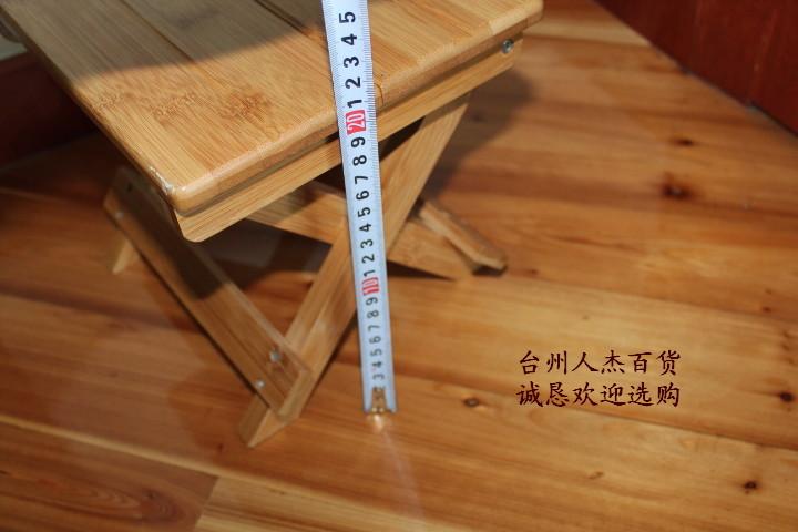 Складной табурет Bamboo house down Стиль кантри Бамбук