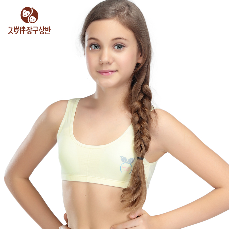 f8c108cb46 The new 2015 -year-old girl with long underwear and development of girls bra