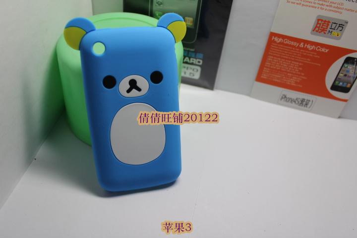 Apple чехол Easily bear Iphone 3G Easily bear Силиконовый чехол