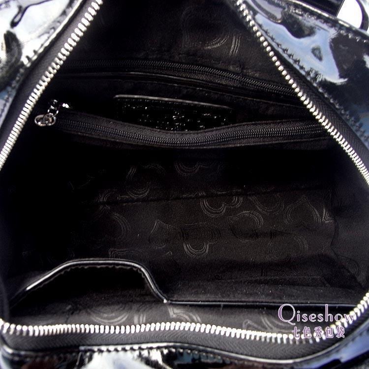 Сумка Vemo 2454ka04 2013 Девушки Женская сумка Однотонный цвет Искусственная кожа