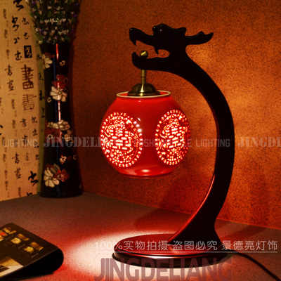 jingdezhen ceramic lamp modern classical chinese style lamps and