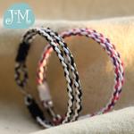 原创设计手工编织多层手链 情侣男女学生款麻线手绳友谊幸运手环
