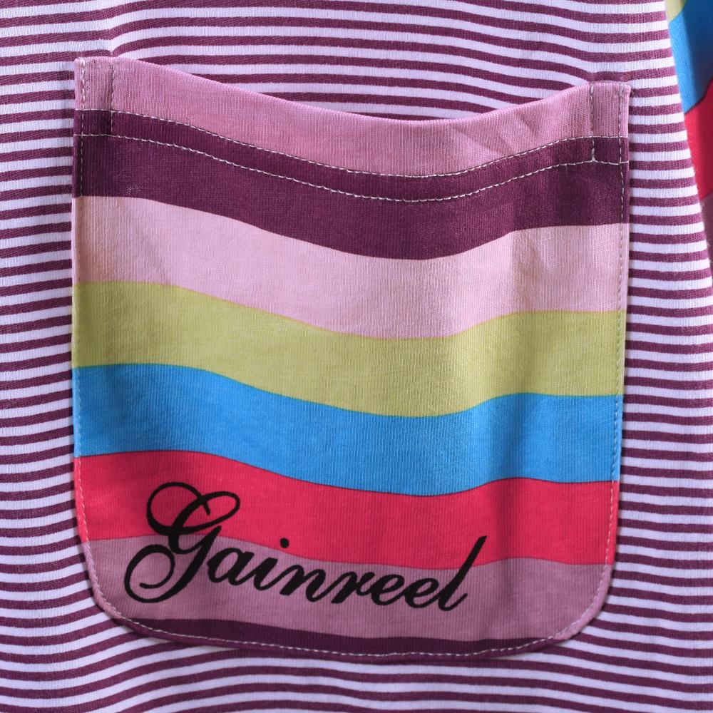 Пижама Gainreel Хлопковый трикотаж В полоску Для пары