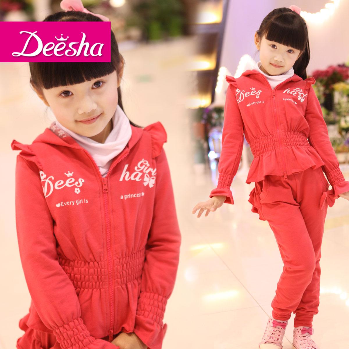 детский костюм DEESHA 1117405 2012 Спортивный Смешанная ткань Весна-осень Жен.