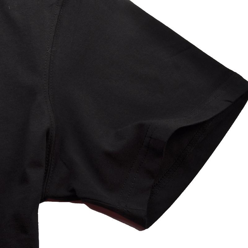 Спортивная футболка Peak f612181 Стандартный О-вырез Короткие рукава ( ≧35cm ) 100 хлопок Баскетбол Влагопоглощающие, Воздухопроницаемые, Суперэластичные % Логотип бренда, Рисунок