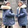 棉服女2018学生冬季中长款流行外套加厚棉袄ins面包服潮G