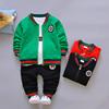 春秋款 童装男童三件套可开裆1-2-3-4-5岁婴幼宝宝女秋季运动套装