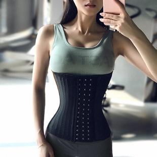 健身女孩升级款透气收腹腰带运动束腰产后修复塑身衣腰封显瘦美体