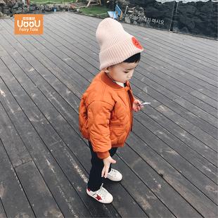 宝宝加厚外套儿童棉服男1一3-4岁潮秋冬婴儿衣服棉袄男童冬装棉衣