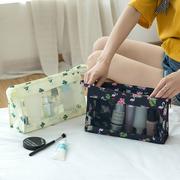 旅行化妆包网红女便携韩国简约大容量小号随身收纳品袋可爱洗漱包