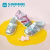 斯乃纳女童凉鞋2020夏季透气羊皮学步鞋撞色包头SL202R