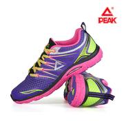 匹克女鞋情侣跑步鞋轻便透气运动鞋跑鞋夏季网面低帮慢跑
