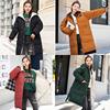 2018女款冬季羽绒棉服中长款两面穿外套双面穿面包服羽绒棉衣学生