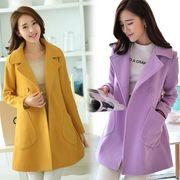 外套最秋冬季女装25岁30呢子大大衣中长款单件大码短单长袖袖