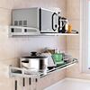 304不锈钢厨房置物架微波炉架子壁挂式墙上收纳架挂架锅烤箱支架