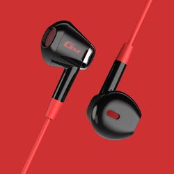 漫步者入耳式耳机游戏电竞吃鸡手游线控带麦有线高音质手机电脑兼容耳麦听音辨位适用于华为小米苹果GM180