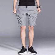 王炸款冰丝男士五分短裤男中裤子沙滩裤夏季薄运动大裤衩