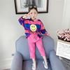 女童春装套装2019超洋气时髦网红儿童装6春秋7卫衣8小女孩9岁
