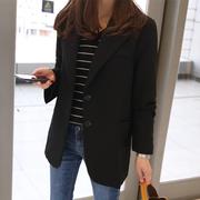 蕾可妮斯小西装女2018春秋女士西服长袖显瘦短款外套