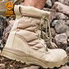 登山鞋男女防水防滑夏季户外徒步鞋高帮沙漠战术特种兵作战靴军靴