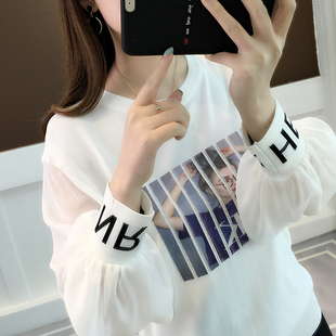冰丝针织衫2019春装时尚薄款蕾丝打底衫很仙的上衣洋气毛衣女