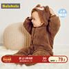 巴拉巴拉婴儿衣服连体衣冬装新生儿宝宝爬爬服0-1岁保暖外出抱衣