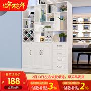 玄关柜鞋柜现代简约门厅柜 客厅酒柜展示柜家用入户双面隔断屏风