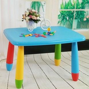 幼儿园小学生可折叠桌椅套装写字台吃饭桌可升降卡通儿童学习