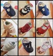斯乃纳男女童婴幼儿步前鞋春秋款羊皮宝宝防滑透气软底单皮鞋