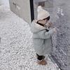 男女宝宝冬装羽绒棉衣2018中长款外套儿童装男童小童棉服