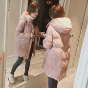 18冬装12岁少女孩13加厚羽绒棉服女中长款15初中学生16外套棉衣服