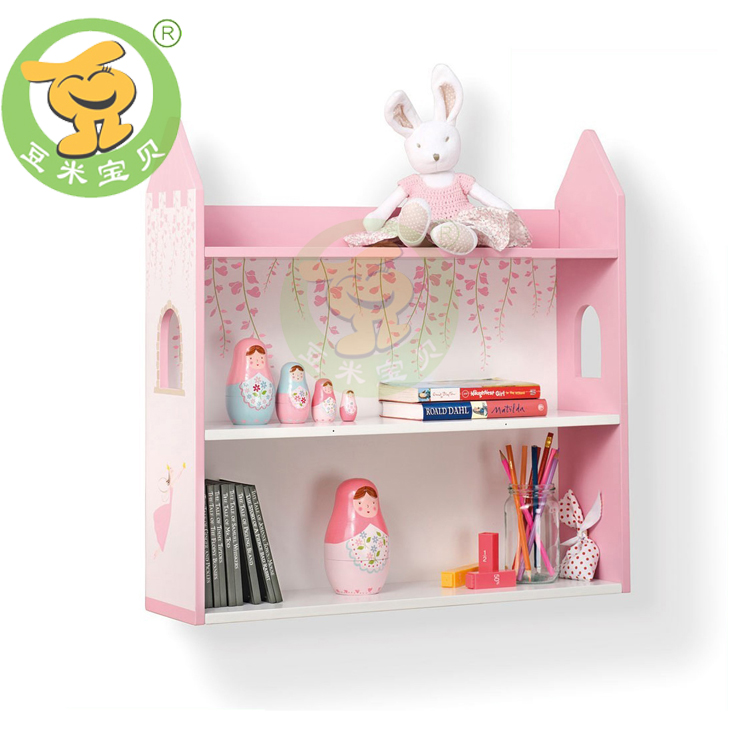 wooden wall shelves in pink doll house design | Woodworking Beginners ...