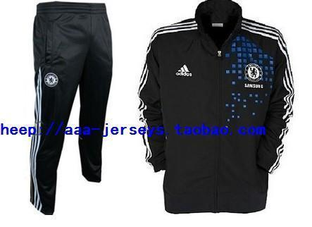Футбольная форма Other Chelsea Tracksuit 11-12 Black Jacket Kit
