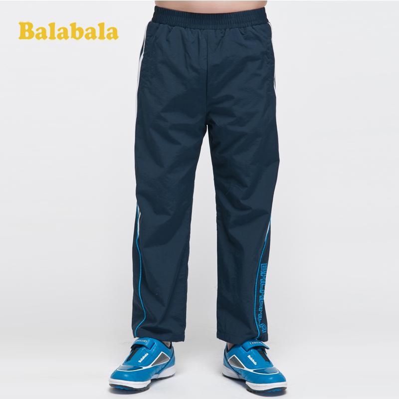 детские штаны Balabala 22083111202 Balabala Смешанная ткань Спортивный С кожаным поясом на талии