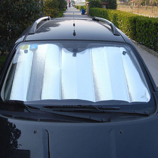 Friends of silver foil bubble car owners a collapsible car shade sun shade for  trend front small
