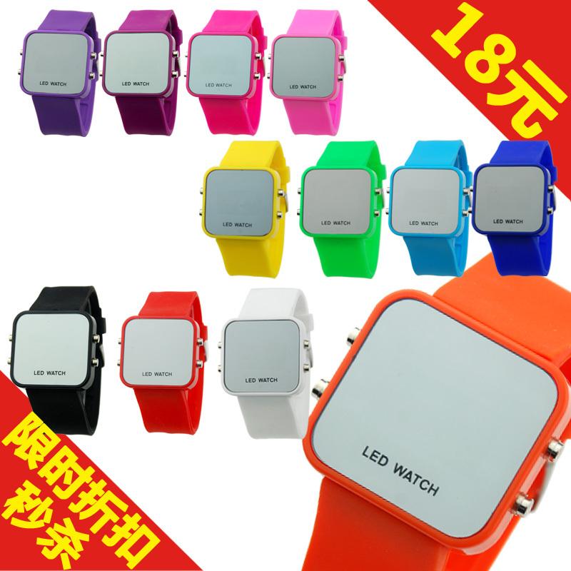 Часы Ca Leen LED 1018 Электронные Детские часы Китай 2012