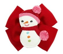 the authentic spot gymboree gymboree cute snowman snowman bow hairpin