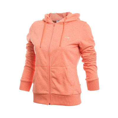Genuine Li Ning / LINING sweater Sports Lifestyle series ladies cardigan hooded sweater AWDH426