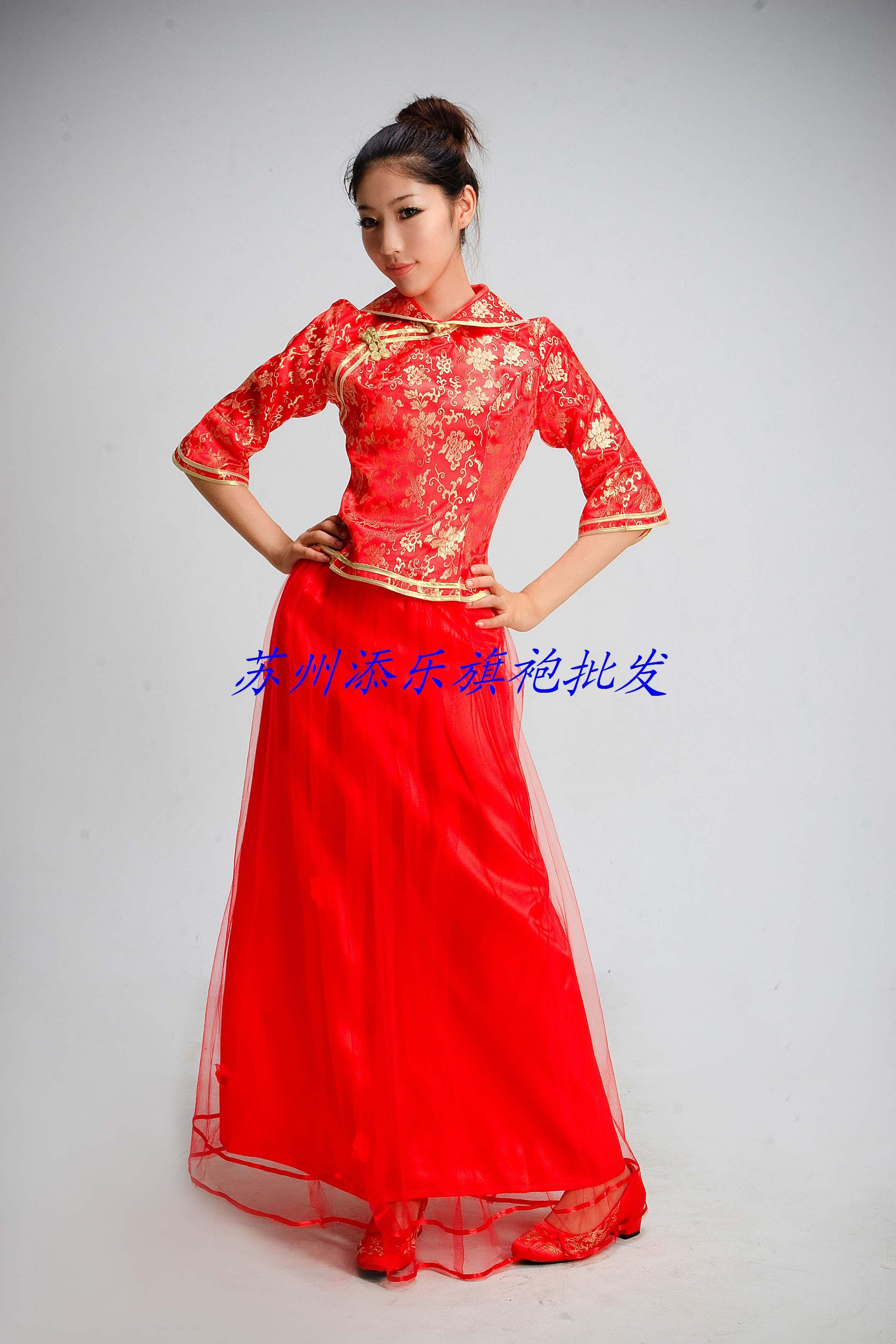 Платье Ципао Shili Shantang zj017 75