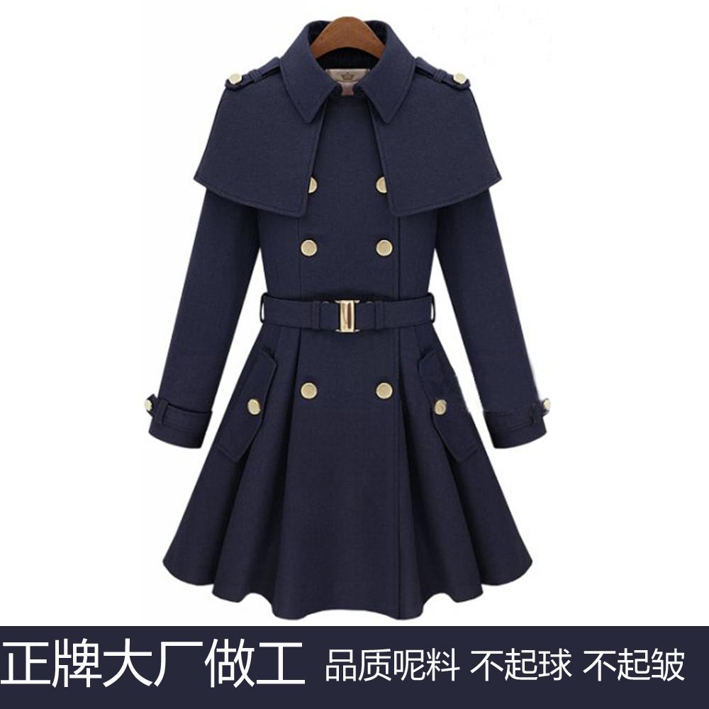 женское пальто 2012188 Зима 2012 Средней длины (65 см <длины одежды ≤ 80 см) Длинный рукав Классический рукав