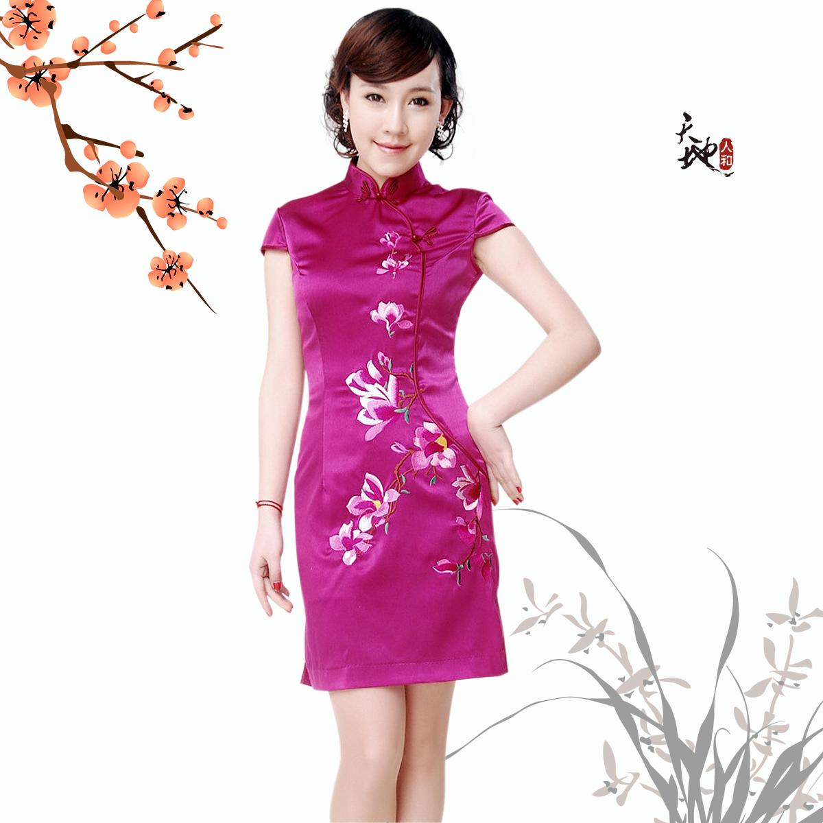 Платье Ципао Yi Tang T030 2011