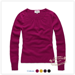 TAOSHI 2011 new winter clothing women's solid color Ralph Lauren round neck sweater TSWM13A02 z