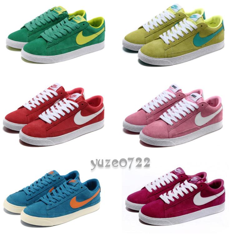 туфли Nike 2012 Плоская подошва Мягкая кожа Верхний слой из воловьей кожи
