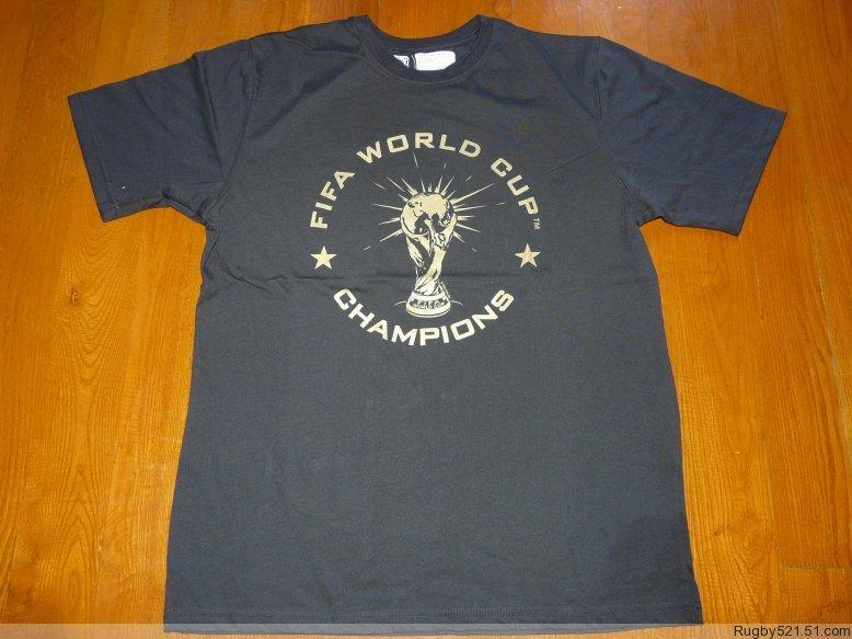 Спортивная футболка Other 2 FIFA2010- TEE-1 Воротник-стойка 100 хлопок С логотипом бренда